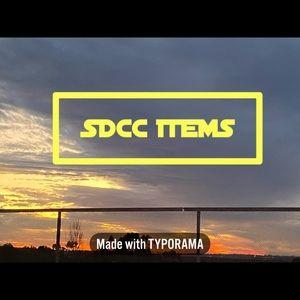 Various SDCC items